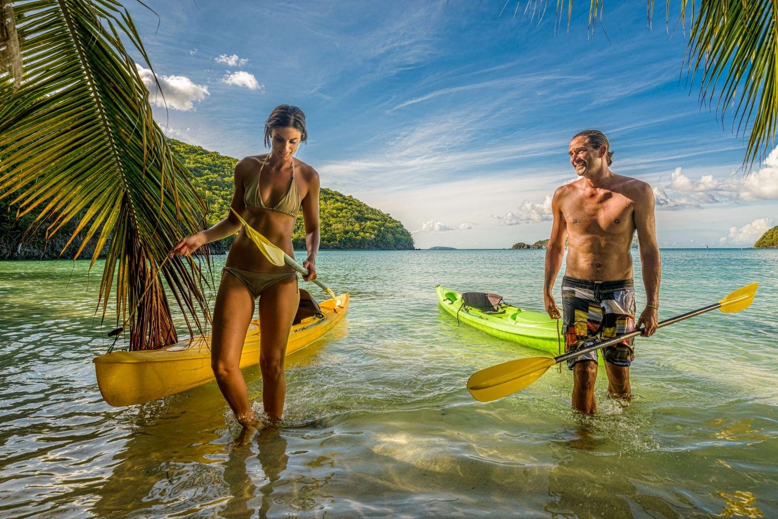 Caribbean kayaking