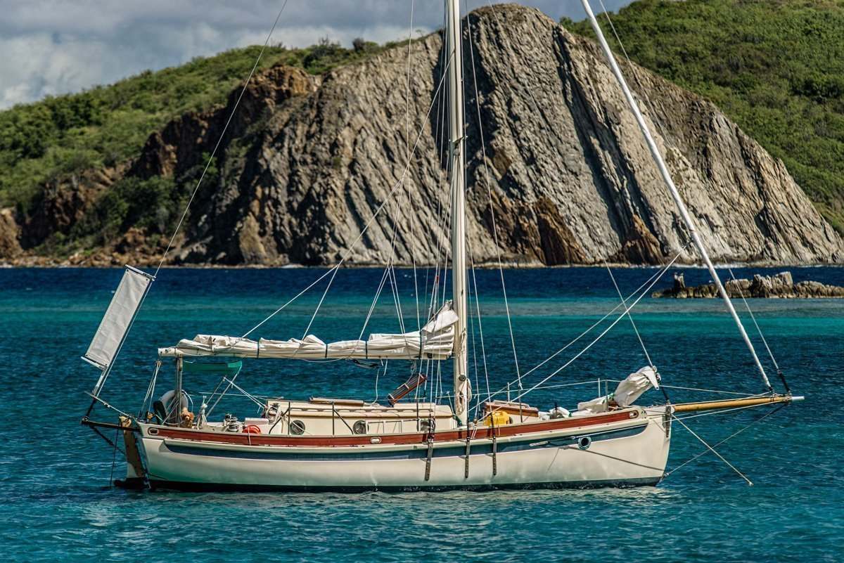 Sailboat Caribbean